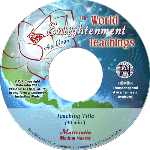 World Enlightenment Teaching CD