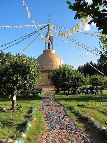HUMUH's Golden Stupa