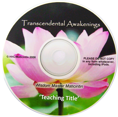 Transcendental Awakening Series