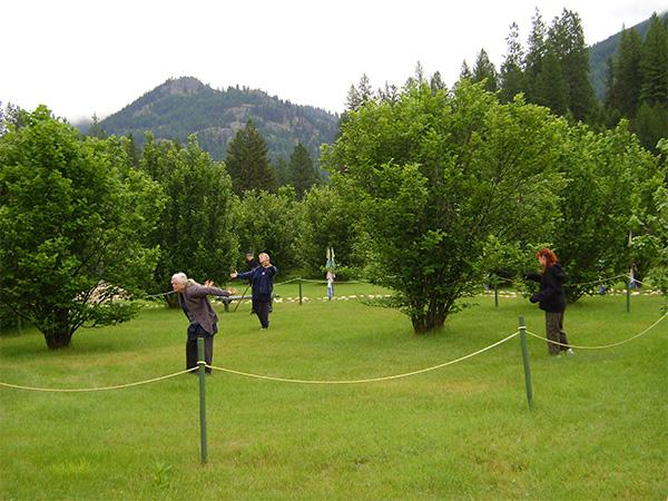 Tai Kar Chi Spiritual Practice at Skycliffe Monastery