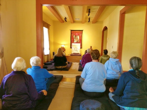 Group Meditation - Dharma & Meditation Center, Kingman, AZ