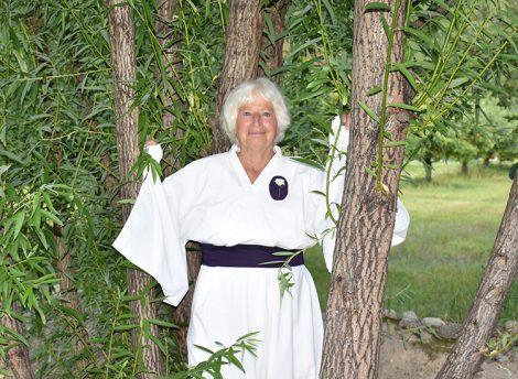 Wisdom Master Maticintin in the Stupa Mandala Garden at Skycliffe